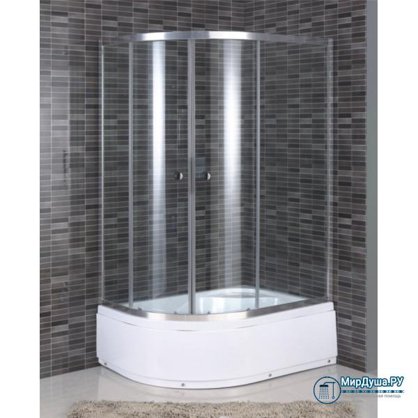 Душевой уголок Aquadush AD-B 100/80 R прозрачное стекло