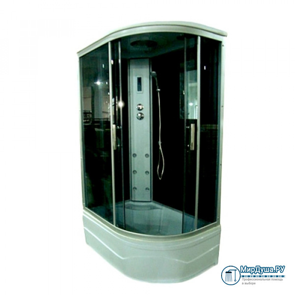 Душевая кабина Aquadush AD-BOX 100/80 L черное стекло