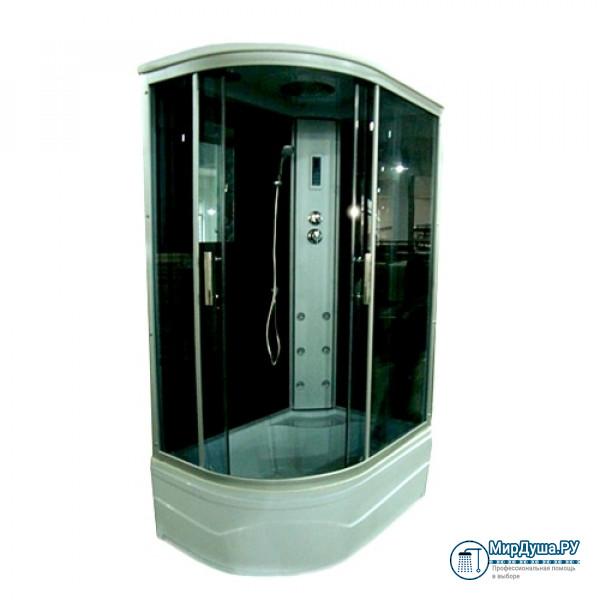 Душевая кабина Aquadush AD-BOX 100/80 R черное стекло