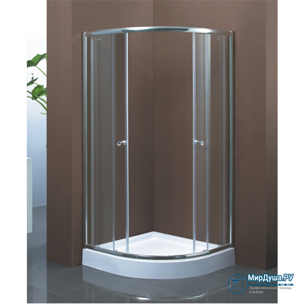 Душевой уголок Aquadush AD-H 100/100 матовое стекло