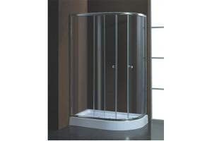 Душевой уголок Aquadush AD-H 120/85 L прозрачное стекло