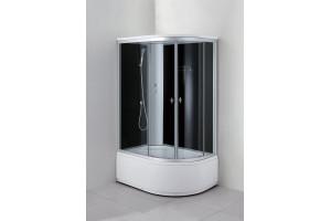 Душевая кабина Aquadush AD-KAB 100/80 L черное стекло