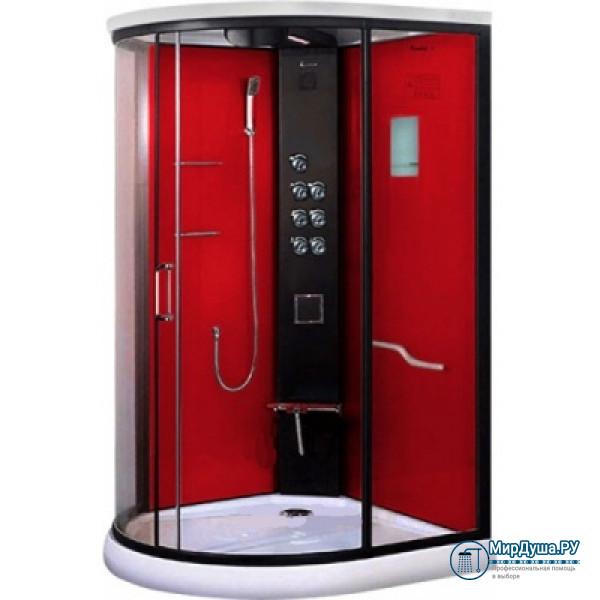 Душевая кабина LanMeng LM-834G красная